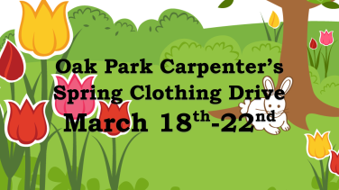 Spring Clothing Drive 2019